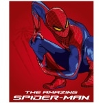 SPIDERMAN - plaid - Couverture calîne- 125 x 150 cm