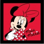 "MINNIE- Coussin  - 40 x 40 cm - "" Adorable  """