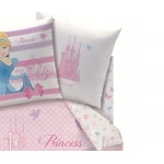 "DISNEY Princesse - Drap Housse 90 x 190 cm assorti à la Housse de Couette "" HAPPY ENDING et GARDEN PARTY """