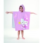 "HELLO KITTY - Poncho - Cape de bain - 120 x 60 cm - "" Morgane """