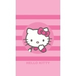 "HELLO KITTY - Drap de plage - Serviette - 70 x 120 cm - "" Nadia """