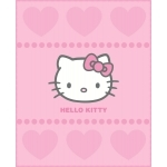 "HELLO KITTY Couverture enfant - Plaid polaire - 110 x 140 cm - "" Alexandra """