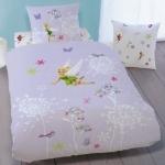 DISNEY FAIRIES - HOUSSE DE COUETTE Fée Clochette - Parure de lit enfant 100% coton - Fairies Light