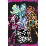 MONSTER HIGH - Poster - 61 x 91 cm