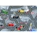 "DISNEY CARS 2 - Tapis-  133 x 95 cm - "" World of cars 2 """