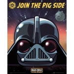 """ANGRY BIRDS - Poster - 40 x 50 cm - """" Vader"""""""