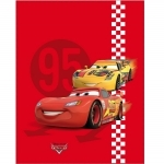 Disney Cars - PLAID  Red Tire - 110 x 140 cm