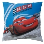 DISNEY CARS 2 - Coussin RSN Blue - 40 x 40 cm