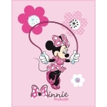MINNIE - Plaid - Couverture - 110x140 cm - Pink Flowers