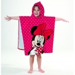 "MINNIE - Poncho - Cape de bain - 120 x 60 cm - "" Adorable """
