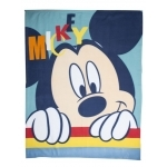 "Mickey - Couverture polaire - plaid - 120 x 150 cm - "" Play """