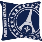 PSG - Coussin Logo Paris Saint Germain - 36 x 36 cm