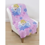 DISNEY PRINCESSE - plaid - couverture - 120 x 150 cm