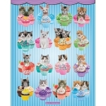"""CHAT  - Poster  - 40 x 50 cm - """"Cup cake"""""""