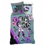 "MONSTER HIGH - Parure de lit - Housse de Couette - 140 x 200 cm - "" Mad Science """