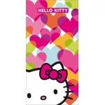 "HELLO KITTY - Drap de Bain/Plage - Serviette - 75 x 150 cm - ""Mimi Love"""