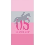 Grand Galop - SERVIETTE  Jump 75 x 150 cm