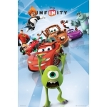 "MONSTER & COMPANIE - LES INDESTRUCTIBLES  - Poster - 61 x 91 cm - ""Disney Infinity """