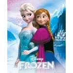 "FROZEN - Poster Reine des Neiges - 40 x 50 cm- "" Anna And Elsa """