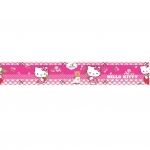 HELLO KITTY - Frise Murale - Rose Cerise