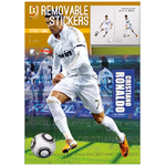 FOOTBALL- Stickers Real Madrid  - Cristiano Ronaldo - Hauteur 50 cm