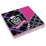 MONSTER HIGH - Lot de 20 Serviettes en Papier 33x33cm