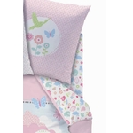 "DISNEY Princesse - Drap Housse 90 x 190 cm assorti à la Housse de Couette "" Dreaming Love  """