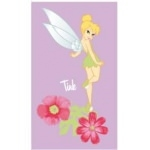 Disney Fairies - SERVIETTE  Fée Clochette Aloha 70 x 120 cm