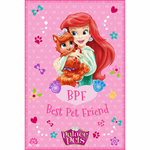 "DISNEY PRINCESSE - plaid - couverture - 100 x 150 cm - "" Palace Pets Disney """