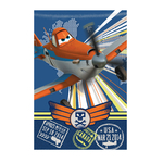 DISNEY PLANES- Plaid - Couverture Câline - 100 x 150 cm