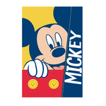 MICKEY - Plaid - couverture - 150 x 100 cm
