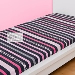 Hello Kitty - DRAP HOUSSE  Fancy Pink 140 x 190 cm