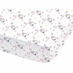 Hello Kitty - DRAP HOUSSE - 60 x 120 cm- Coccinelle