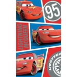 "DISNEY CARS  - Serviette - Drap de bain/plage - IT""S TIME - 70 x 120 cm"