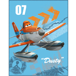 "DISNEY PLANES - plaid - couverture - 100 x 150 cm ""ARRIVAL"""