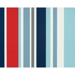 PAPIER PEINT - Long Island Stripes - 53 cm x 10 m