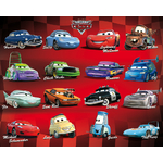 DISNEY CARS 2 - Poster  - 40 x 50 cm - Compilation