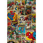 SPIDERMAN - Poster - 61 x 91 cm - Comics Covers