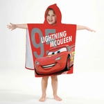 DISNEY CARS 2 - Cape de Bain - Poncho -  60 x 120 cm - It's Time