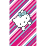 "HELLO KITTY - Drap de Bain/Plage - Serviette - 75 x 150 cm - ""Paris"""