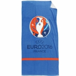COUPE EUROPE FOOTBALL FRANCE - Serviette - Serviette - Drap de bain/plage 75 x 150 cm - Cup