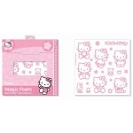 HELLO KITTY 16 stickers en mousse