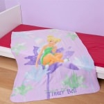 DISNEY FAIRIES - PLAID  Fée Clochette - 130 x 160 cm