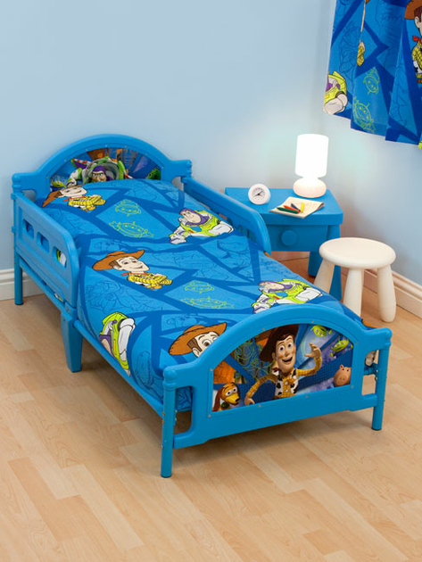 toy story set 4 en 1 housse de couette 120 x 150 cm taie oreiller couette toy story. Black Bedroom Furniture Sets. Home Design Ideas