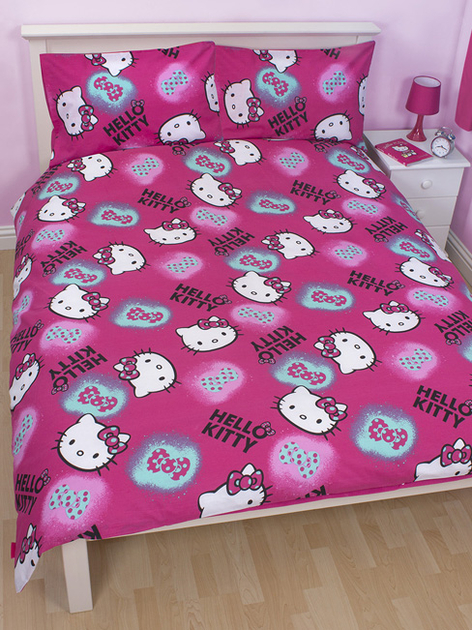 Linge de lit hello kitty