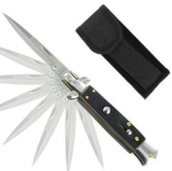 Couteau Italien à cran d'arret automatique.