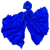 Etole laine bleu vif fine et douce premium