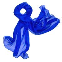 Etole bleu klein  mousseline de soie premium