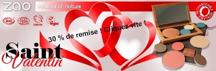 Offre irrésistible St Valentin !