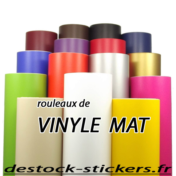 adhesif vinyle mat rouleau de 10 m tres pour plotter de d coupe rouleaux vinyle adhesif mat. Black Bedroom Furniture Sets. Home Design Ideas